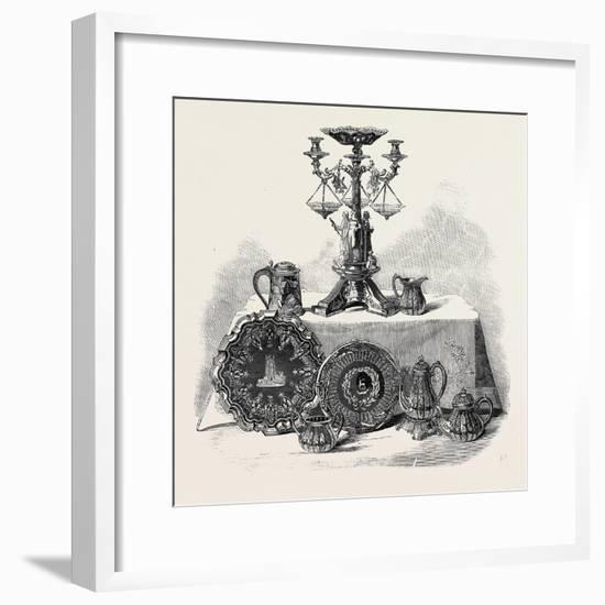 Plate Presented to Henry Workman Esq. of Evesham--Framed Giclee Print