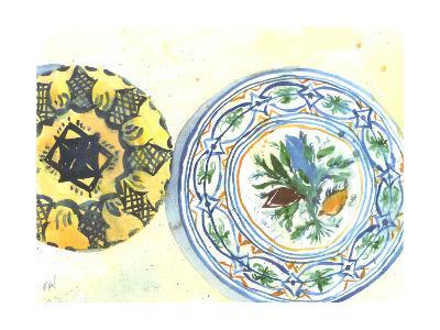 Plate Study II-Samuel Dixon-Art Print