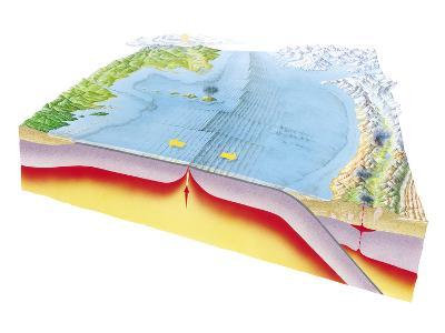 Plate Tectonics-Gary Hincks-Photographic Print