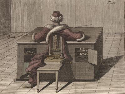 Plate VI, from 'Uber Den Schachspieler Des Herrn Von Kempelen Und Dessen Nachbildung'--Giclee Print