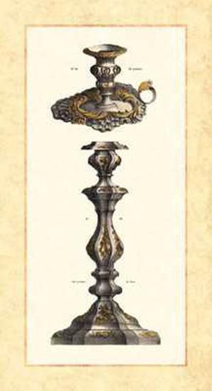 Plateria  Candelabro II--Art Print