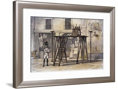 Platform (For Pillory)--Framed Giclee Print