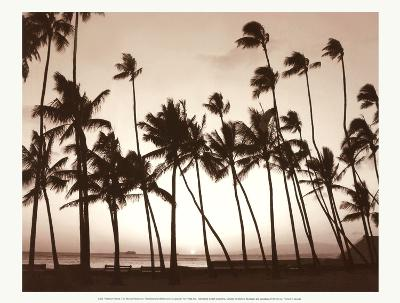 Platinum Palms I-Michael Neubauer-Art Print