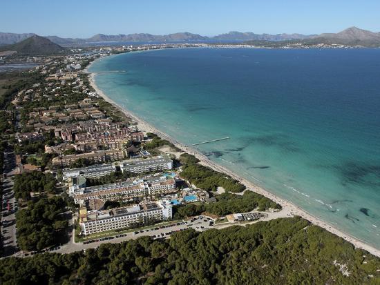 Platja D'Alcudia, Mallorca, Balearic Islands, Spain, Mediterranean, Europe-Hans Peter Merten-Photographic Print
