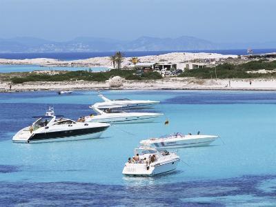 Platja Illetas, Formentera, Balearic Islands, Spain, Mediterranean-Hans Peter Merten-Photographic Print