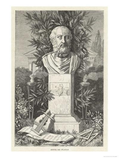 Plato Also Known as Aristocles Greek Philosopher--Giclee Print