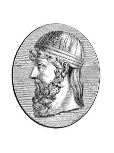 Plato (C428-C348 B), Ancient Greek Philosopher