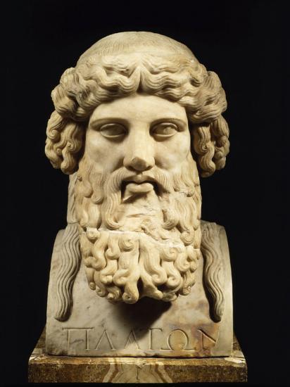 Plato, Greek Philosopher--Photographic Print