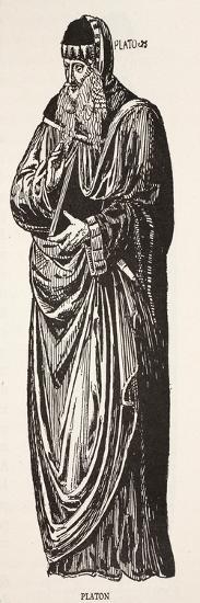Plato (Litho)-French-Giclee Print