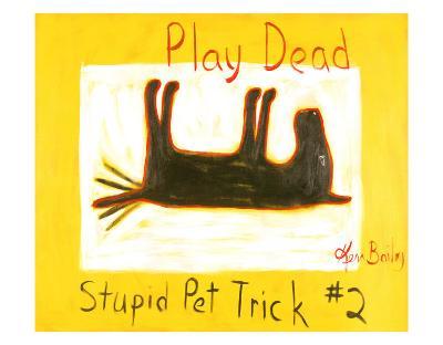 Play Dead #2-Ken Bailey-Collectable Print