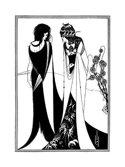 Play, Wilde, Beardsley-Aubrey Beardsley-Giclee Print