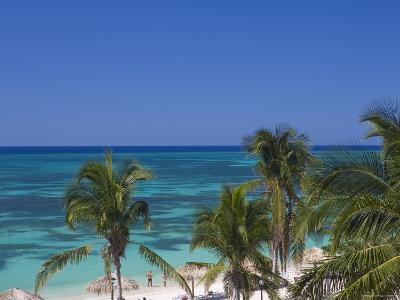 Playa Ancon, Peninsula de Ancon, Nr Trinidad, Cuba-Peter Adams-Photographic Print