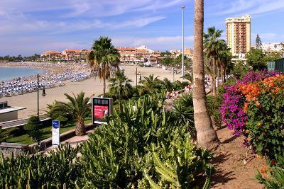 Playa De Las Vistas, Los Cristianos, Tenerife, Canary Islands, 2007-Peter Thompson-Photographic Print