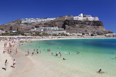 Playa De Los Amadores, Gran Canaria, Canary Islands, Spain, Atlantic, Europe-Markus Lange-Photographic Print