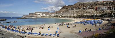 Playa De Los Amadores, Gran Canaria, Canary Islands, Spain-Peter Thompson-Giclee Print