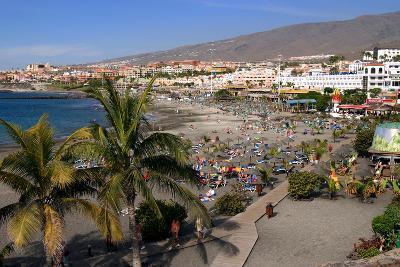 Playa De Torviscas Beach, Playa De Las Americas, Tenerife, Canary Islands, 2007-Peter Thompson-Photographic Print