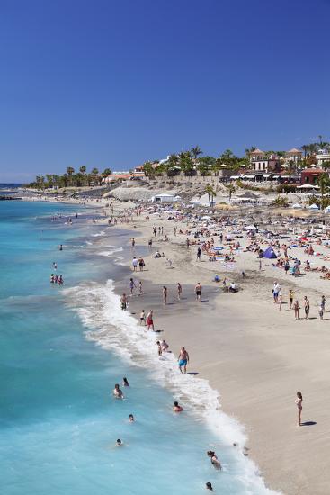 Playa Del Duque Beach at Costa Adeje, Tenerife, Canary Islands, Spain, Atlantic, Europe-Markus Lange-Photographic Print