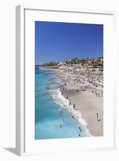 Playa Del Duque Beach at Costa Adeje, Tenerife, Canary Islands, Spain, Atlantic, Europe-Markus Lange-Framed Photographic Print