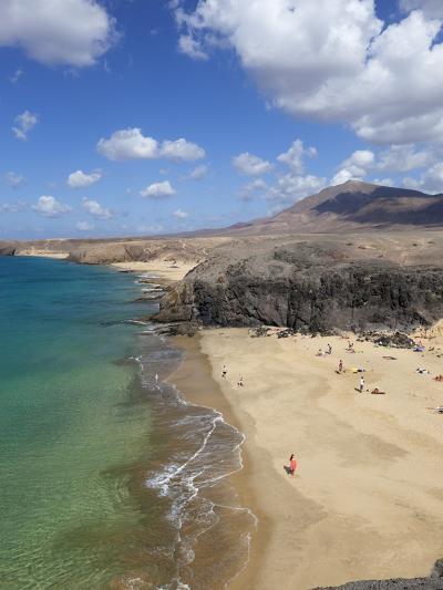 Playa del Papagayo, Near Playa Blanca, Lanzarote, Canary Islands, Spain-Stuart Black-Photographic Print