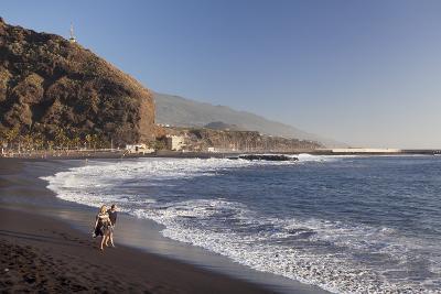 Playa Del Puerto Beach, Puerto De Tazacorte, La Palma, Canary Islands, Spain, Atlantic, Europe-Markus Lange-Photographic Print