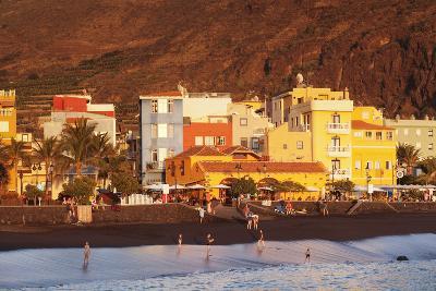 Playa Del Puerto Beach, Puerto De Tazacorte, La Palma, Canary Islands, Spain, Europe-Markus Lange-Photographic Print