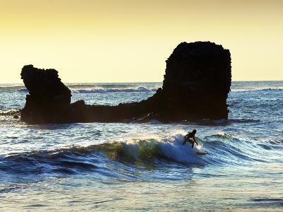 Playa El Tunco, El Salvador, Pacific Ocean Beach, Popular With Surfers, Great Waves-John Coletti-Photographic Print