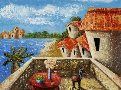 Playa Gorda II-Oscar Ortiz-Giclee Print