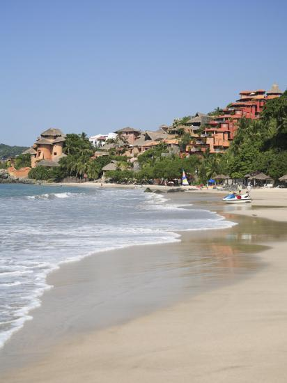 Playa La Ropa, Pacific Ocean, Zihuatanejo, Guerrero State, Mexico, North America-Wendy Connett-Photographic Print