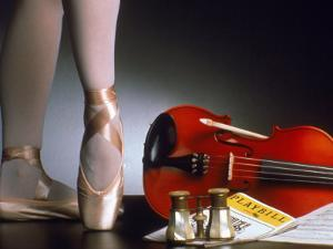 Playbill, Ballerina Legs and Violin
