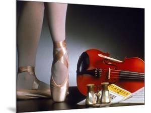 Playbill, Ballerina Legs and Violin