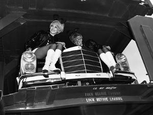 Playboy Bunnies at the B&O: 1950s