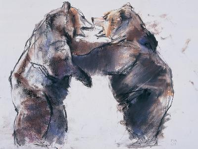 Playfight, 2001-Mark Adlington-Giclee Print