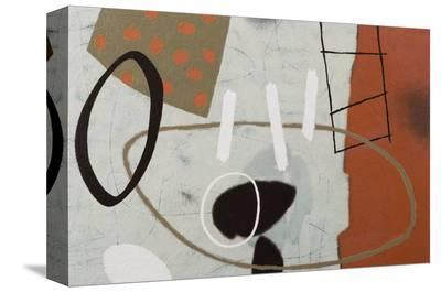 Playful Thoughts 2-Janette Dye-Stretched Canvas Print