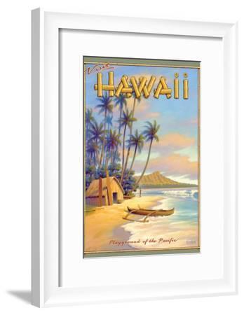 Playground of the Pacific-Kerne Erickson-Framed Art Print