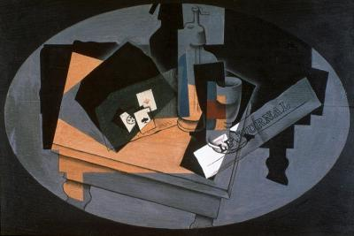 Playing Cards and Siphon, 1916-Juan Gris-Giclee Print