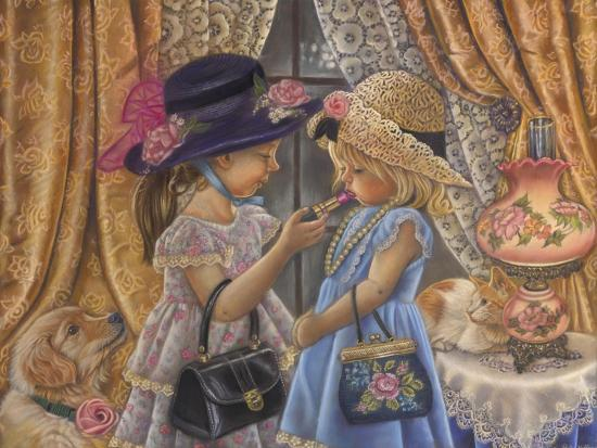 Playing Dress Up-Tricia Reilly-Matthews-Giclee Print
