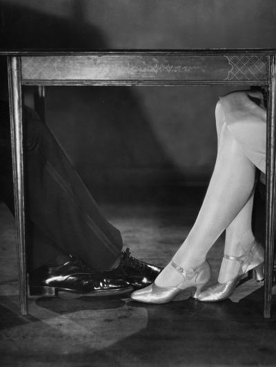Playing Footsie-Sasha-Photographic Print