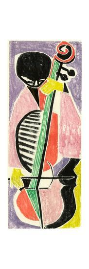 Playing the Cello-Anneliese Everts-Giclee Print