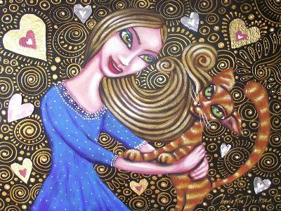 Playing with My Heart-Cherie Roe Dirksen-Giclee Print