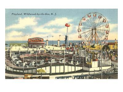 Playland, Wildwood-by-the-Sea, New Jersey--Art Print