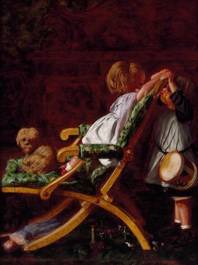 Playmates, 1866-Arthur Boyd Houghton-Giclee Print