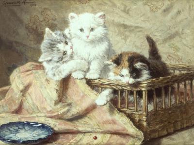 Playmates-Henriette Ronner-Knip-Giclee Print