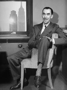 Playwright Robert E. Sherwood