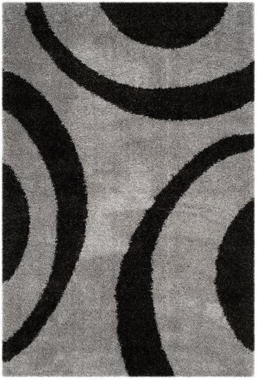 """Plaza Area Rug - Charcoal/Black 5'1"""" x 7'6""""--Home Accessories"""