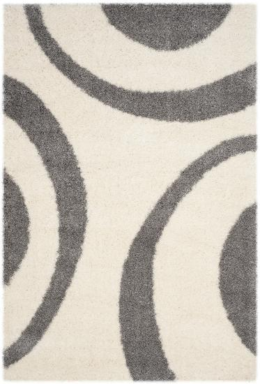"""Plaza Area Rug - Ivory/Grey 5'1"""" x 7'6""""--Home Accessories"""