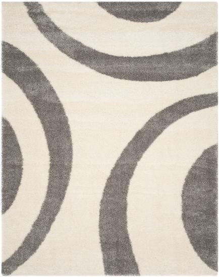 Plaza Area Rug - Ivory/Grey 8' x 10'--Home Accessories
