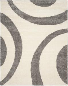 Plaza Area Rug - Ivory/Grey 8' x 10'