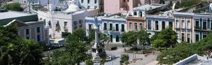 Plaza De Colon, Old San Juan, Puerto Rico, USA