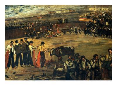 Plaza De Las Ventas-Jose Gutierrez Solana-Giclee Print