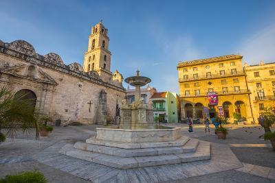 Plaza De San Francisco De Asis, La Habana Vieja (Old Havana), Havana, Cuba, West Indies, Caribbean-Alan Copson-Photographic Print